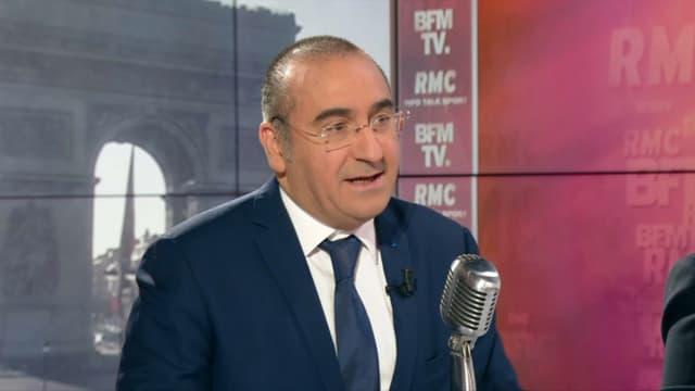 Laurent Nuñez sur BFMTV et RMC, le 19 mars.