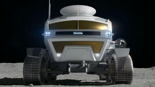 Les mensurations du rover: 6 mètres de long, 5,2 mètres de large et 3,8 mètres de haut.