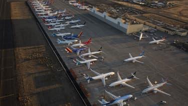 Des Boeing 737 MAX cloués au sol