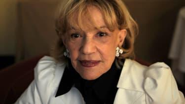 Jeanne Moreau, le 17 mai 2008 au Festival de Cannes