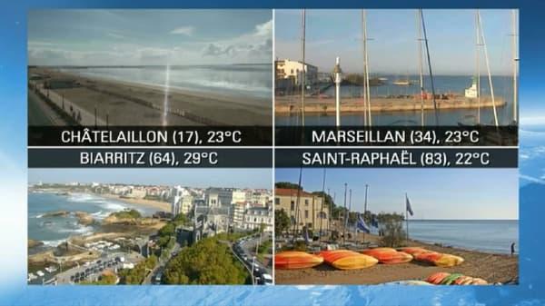 Week-end estival sur toute la France