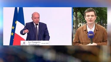 Le député Benoist Apparu, dimanche, sur BFMTV.