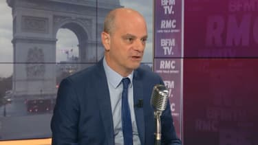 Jean-Michel Blanquer, invité de BFMTV-RMC mardi 20 octobre 2020. (Photo d'illustration)