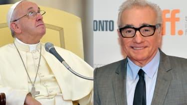 Le pape François et Martin Scorsese