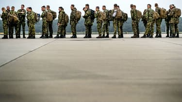 28.500 soldats américains sont présents en Corée du Sud. Image d'illustration.