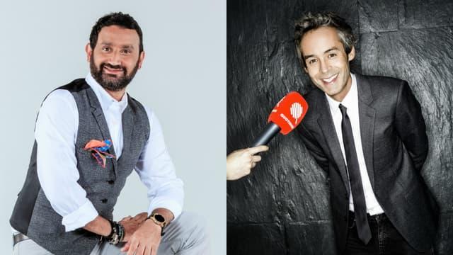 Cyril Hanouna, animateur vedette de C8 et Yann Barthès nouvelle star de TMC.