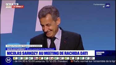 """""""Aujourd'hui, tu peux compter sur moi"""": Nicolas Sarkozy loue la """"fidélité"""" de Rachida Dati"""