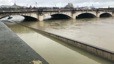 La Seine en crue (photo d'illustration)