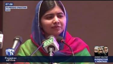 Malala Yousafzai, prix Nobel de la paix, revient au Pakistan pour la première fois depuis 2012