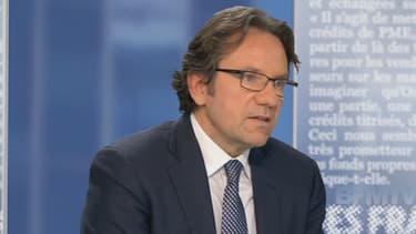L'ancien secrétaire d'État au commerce Frédéric Lefebvre