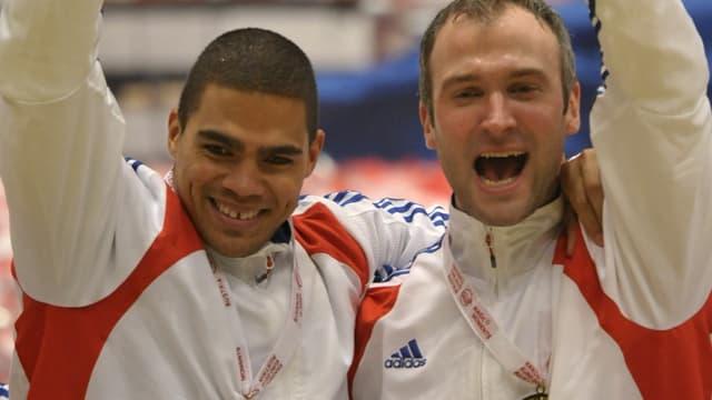 Daniel Narcisse et Thierry Omeyer
