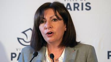 La maire de Paris, Anne Hidalgo, lundi 1er mars 2021