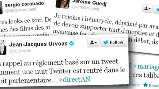 Quelques tweets de personnalités politiques françaises