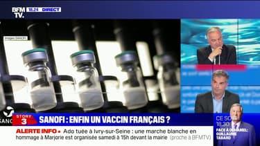 """Olivier Bogillot annonce que le vaccin de Sanofi devrait être """"disponible au dernier trimestre de cette année"""""""