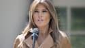 """Melania Trump lors de la présentation du programme """"Be best""""."""