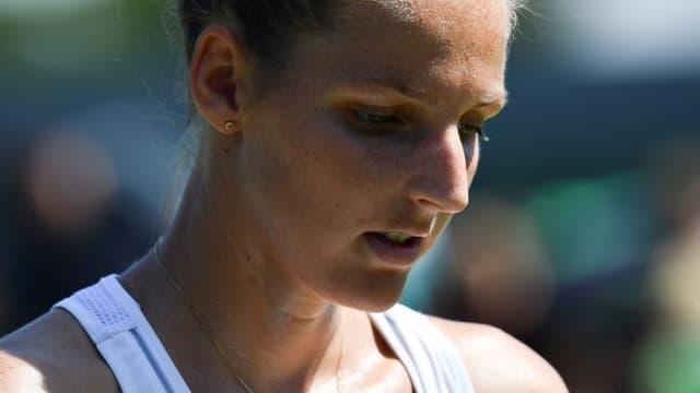 Kristyna Pliskova ne brasse pas d'air