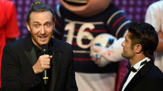 David Guetta et Bixente Lizarazu