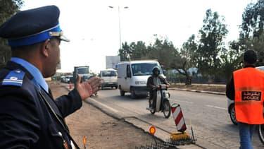 Une jeune Française a été enterrée vivante au Maroc. Ici, un officier de police marocain en mai 2011