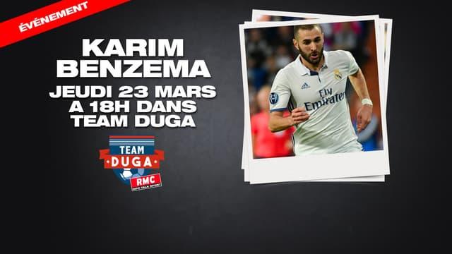 Karim Benzema dans Team Duga