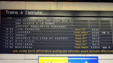 La SNCF va rendre publique la régularité de ses trains