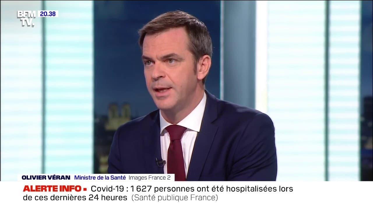 """Covid-19: Olivier Véran envisage """"une extension du couvre ..."""