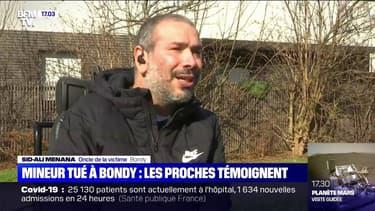 """""""C'est comme si je venais de perdre l'un de mes fils"""": L'oncle de l'adolescent tué à Bondy témoigne"""