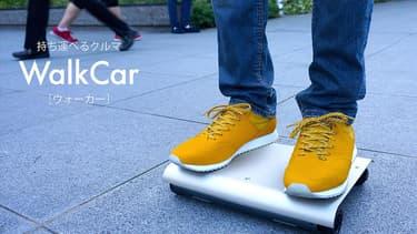 Cette planche à roulettes peut nous transporter sur 12 km à 10 km/h.