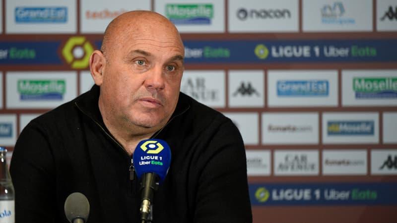 Metz: Antonetti allume ses joueurs après la défaite contre Nîmes