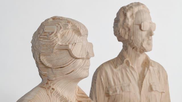 Thomas Bangalter et Guy-Manuel de Homem-Christo (détail)