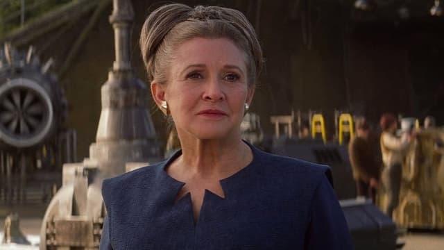 "Carrie Fisher dans ""Star Wars 8"""