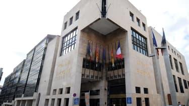 Le bâtiment du Conseil régional de la région PACA