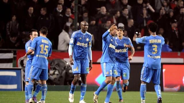 Marseille s'est imposé 2-1 à Rennes