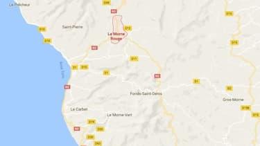 Morne-Rouge se trouve à environ 30 km au nord de Fort-de-France.