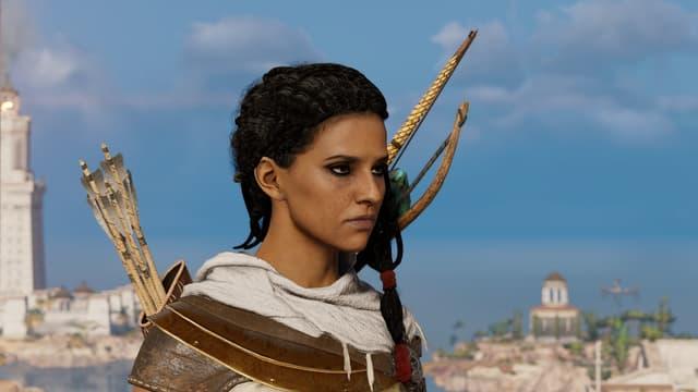 Le personnage Aya dans Assassin's Creed Origins