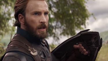 "Chris Evans dans ""Avengers: Infinity War"""