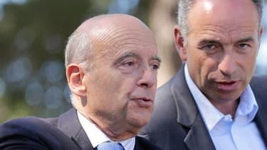 Jean-François Copé et Alain Juppé