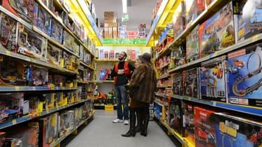 Un magasin de jouets à Tours, en 2012. (Photo d'illustration) - ALAIN JOCARD / AFP