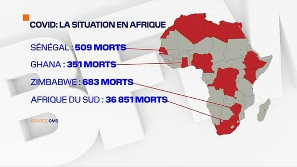 La situation sanitaire s'aggrave en Afrique.