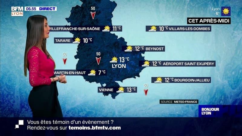 Météo à Lyon: un temps ensoleillé mais froid pour la saison, seulement 13°C cet après-midi