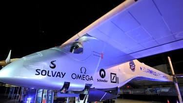 L'avion solaire suisse Solar Impulse.