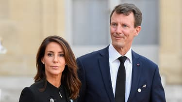 Le prince Joachim de Danemark et son épouse, la princesse Marie