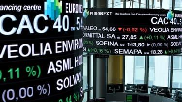 Les derniers avertissements d'Ingenico, Atos ou Sopra Steria ont été sanctionnées par des baisses spectaculaires à la Bourse de Paris.