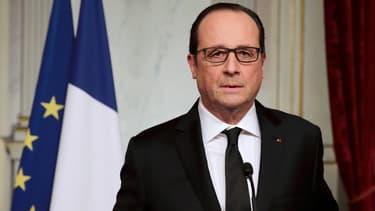François Hollande, le 7 janvier 2015.