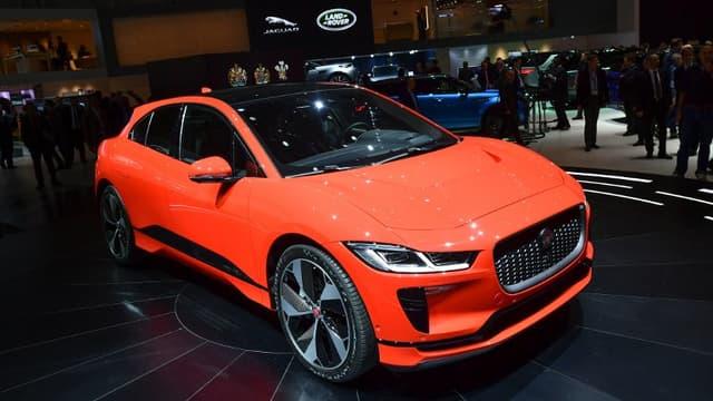 l'I-Pace de Jaguar, voiture de l'année