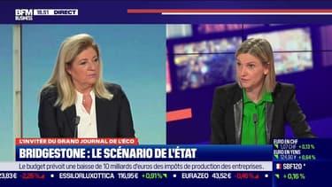 """Agnès Pannier-Runacher sur le dossier Bridgestone: """"je crois au travail d'Accenture"""""""
