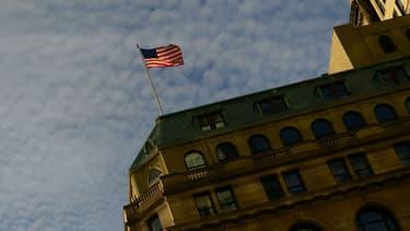 Un drapeau américain à New York (image d'illustration) - Emmanuel Dunand-AFP