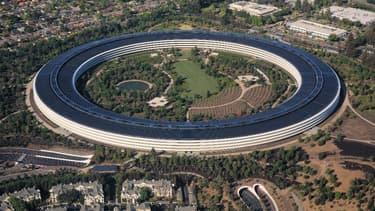 Apple Park, le siège social d'Apple à Cupertino (Californie)