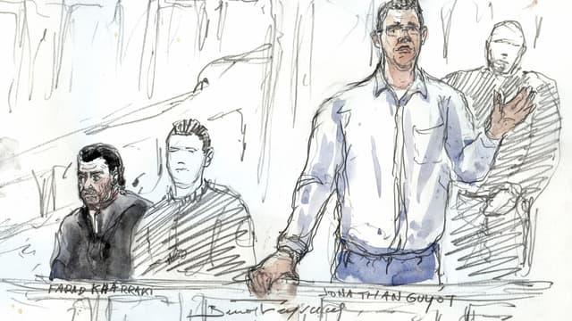 Jonathan Guyot est soupçonné d'être l'auteur du vol de 52 kilos de cocaïne au 36 quai des Orfèvres.