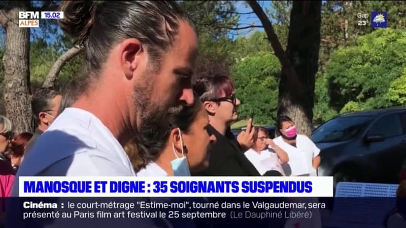 Alpes: 35 soignants suspendus