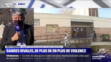 """Bandes rivales: """"Ne généralisons pas mais essayons de comprendre pourquoi ça dégénère"""", insiste Éric Coquerel (LFI)"""